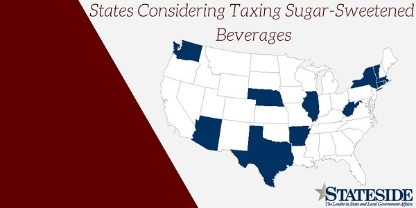 States considering taxing sugar-sweetened beverages
