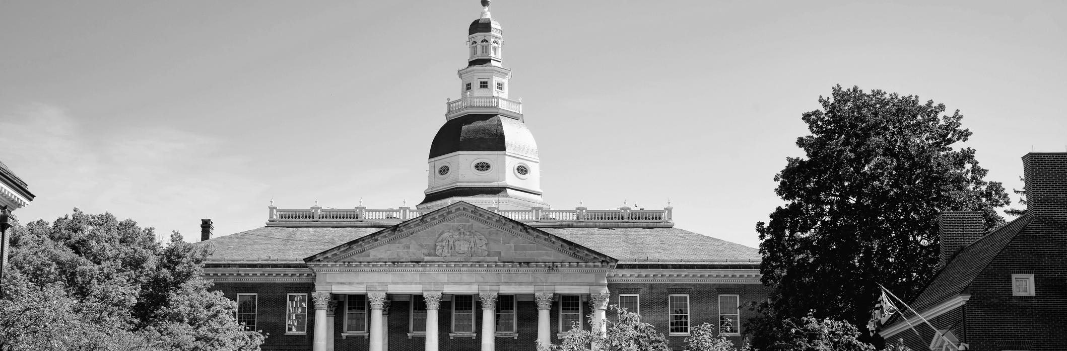 Image of Maryland capitol building